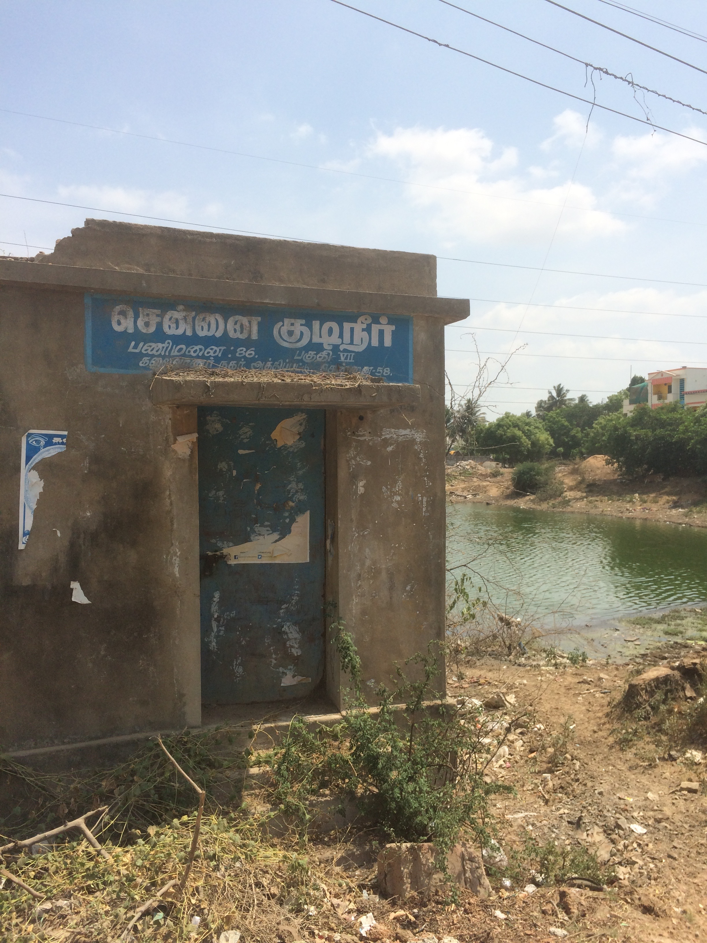 Chennai Corporation Water Borewell located here.